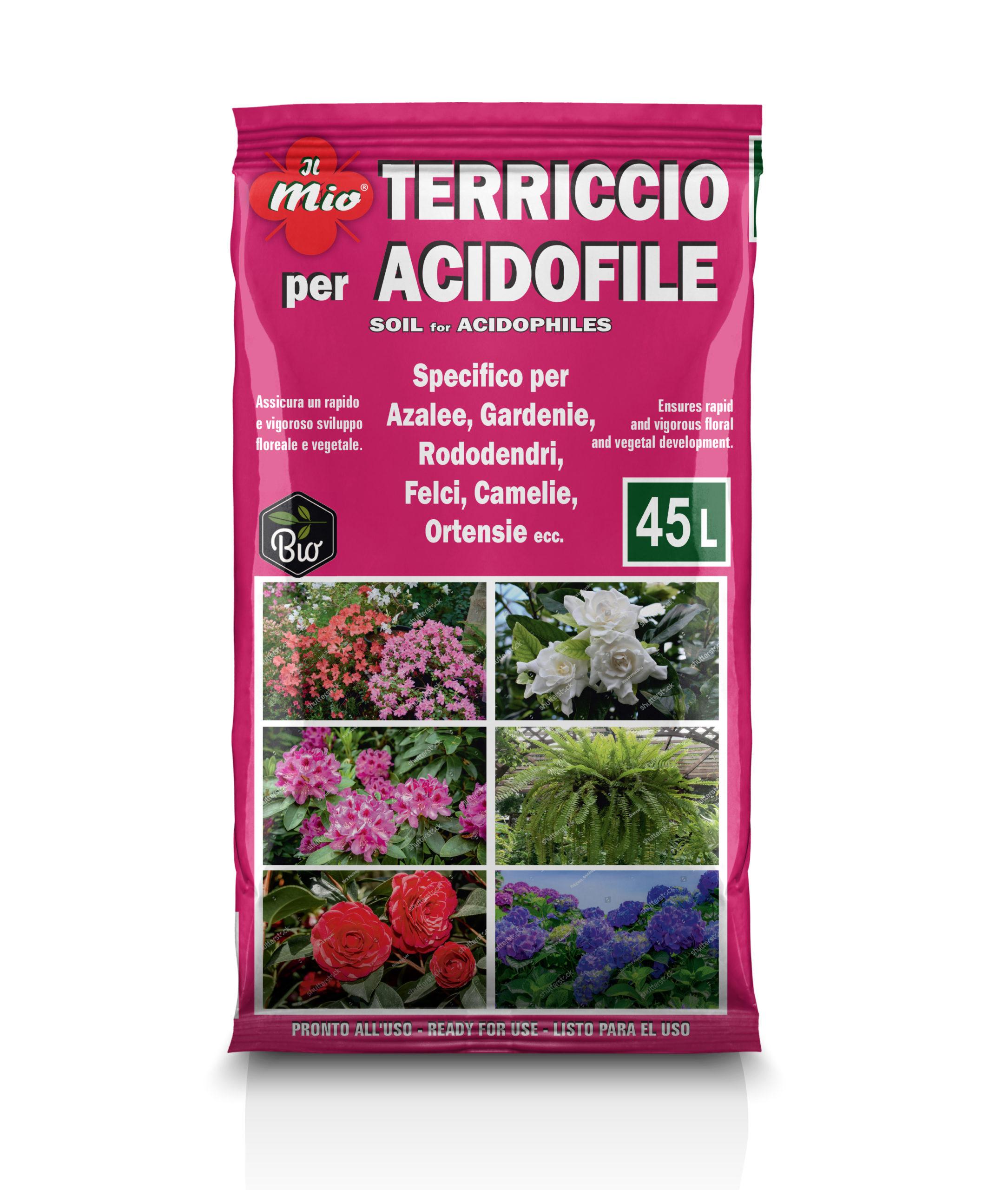 Terriccio specifico per Acidofile Biologico
