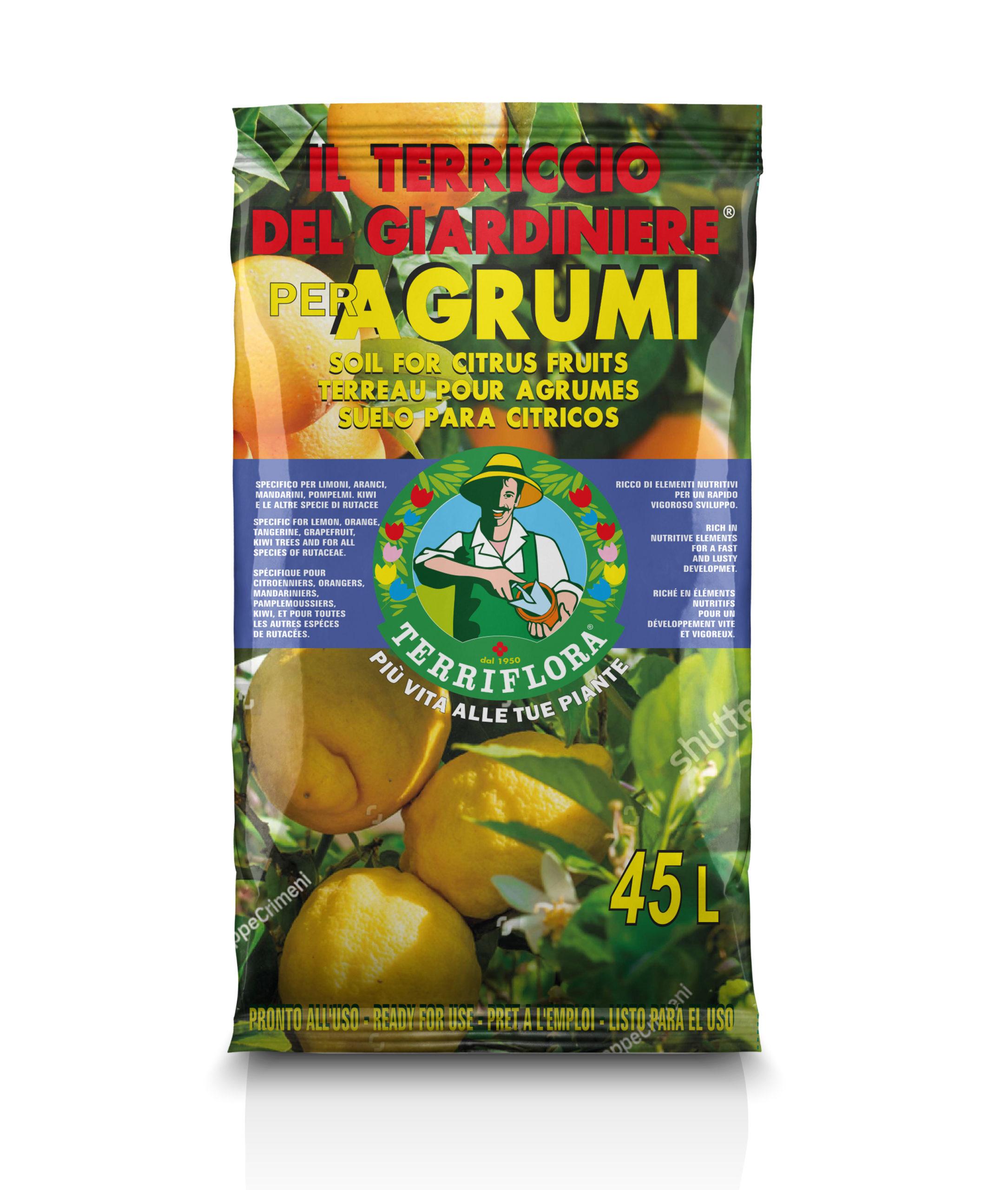 Terriccio specifico per Agrumi