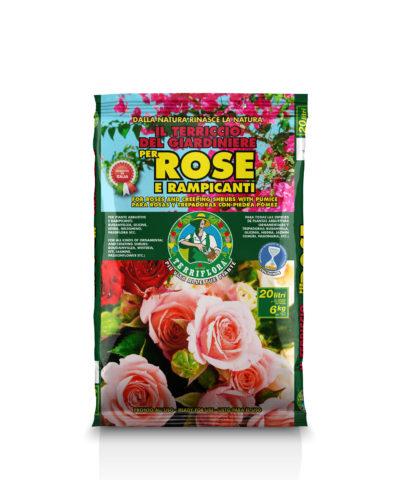 Terriccio specifico per Rose e Rampicanti